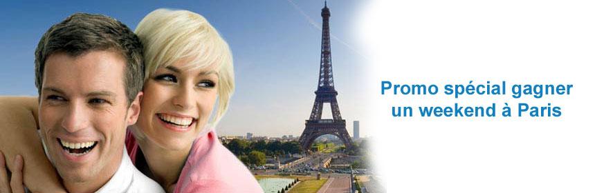 Promo gagner un voyage à Paris avec Dating Factory France