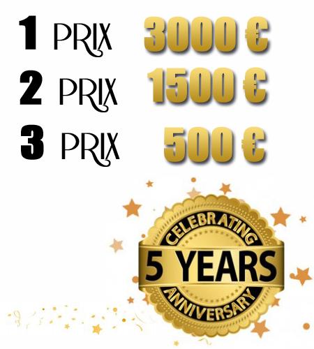Nous sommes prêts à donner 5000 euros des primes en espèces aux Top 3 partenaires avec les MEILLEURES VENTES AU COURS DU MOIS D'AVRIL! Il est maintenant venu le temps d'optimiser vos campagnes marketing ou vos sites pour avoir une chance de gagner l'un des prix 3 bonus.  Voici les trois prix qui seront distribués :